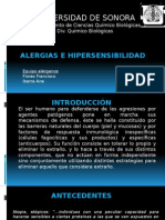 Alergias e Hipersensibilidad