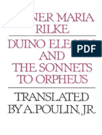Duino Duino Elegies and the Sonnets to OrpheusElegies and the Sonnets to Orpheus