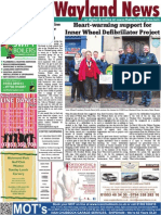 The Wayland News March 2015
