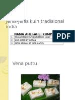 Jenis-jenis Kuih Tradisional India