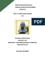 Protocolo Institucional 1-2015