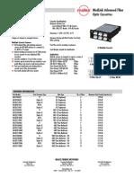 Molex- Fibre Mini Modlink Cassettes SS