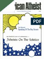 American Atheist Magazine Dec 1985