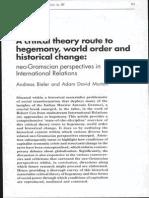 Bieler Morton Critical Theory Hegemony Change