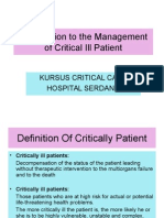 Kursus Critical Care Respiratory Function