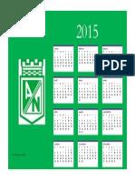 Calendario Anual Juan Esteban Giraldo 9E Soto