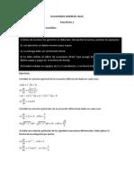 Ecuaciones Diferenc Iales Taller 2