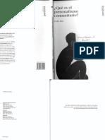 Que es el Personlismo Comunitario - Col. Persona 1 - Fundacion Mounier, 2002