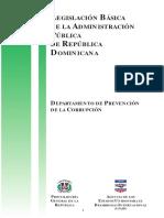 Legislación Básica de La Administración Pública RD - USAID