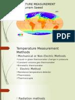 Temperature Measurement Methods