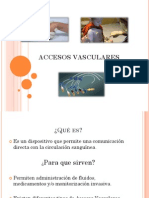 Ppt Accesos Vasculares