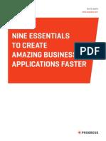 4 41536 ProgressWP Nine Essentials to Create Amazing Business Applications Faster