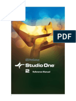 Studio One - Manual Em Português