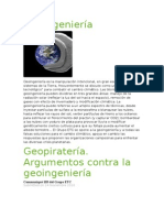 Geoingeniería