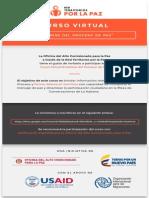 Curso Virtual - Proceso de Paz