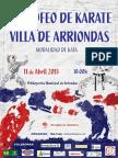 Normativa III Trofeo Villa de Arriondas 2015