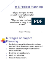 Project Planning work