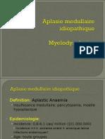 Aplasie Medulllaire. SMD. LLC