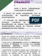 ALFABETIZA%C7%C3O & LETRAMENTO