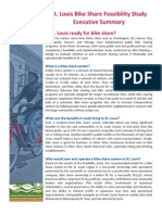 St. Louis Bike Share Feasibility Study Executive Summary