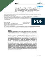 Transcriptome Analysis of Grain Development in Hexaploid Wheat