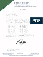 2015 02 20 Legislative Consult Letter Daudt Gmd