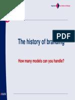 History of Branding