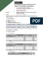 Modelo de Informe de Gg Ancon