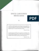 Doce Canciones Mexicanas
