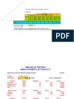 57056463 Analisis de Costos de Placa P 14 Para Muro Portante Apilado Muro en Chilca