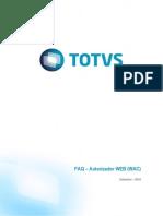 FAQ Autorizador Web - V9