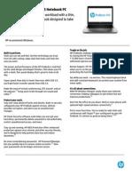 HPProBook445G1_datasheet