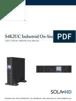Sola S4K2UC UPS Manual