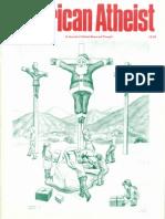 American Atheist Magazine Dec 1986