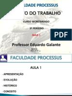 AULA 01 - D TRAB - 2014
