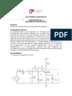 Guia de Laboratorio 2 Electronica Analogica II