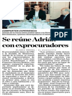 13-02-2015 Se reúne Adrián con exprocuradores