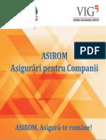 Asigurari Pentru Companii de La ASIROM