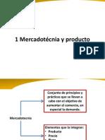 1 Mercadotécnia y Producto