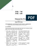 Manual Psr 640_740