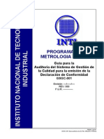 Resumen Para Auditoria Metrologica