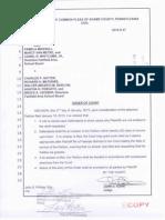 Fairfield Area School District lawsuit