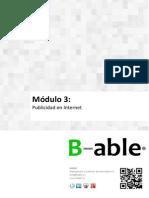 Modulo 3 - Publicidad en Internet