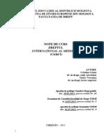 Dreptul International Al Mediului