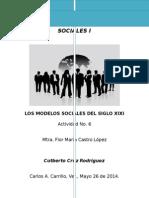 Modelos Sociales del s. XIX.