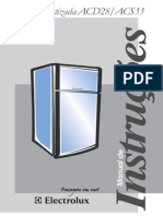 Manual Adega ACS33