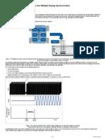 Example of Automotive Multimedia Test Multiple Display Synchronization