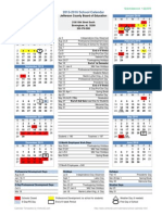 Jefferson County 2015-2016 School Calendar