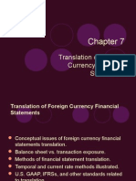 Foreign Currency Translation Presentation