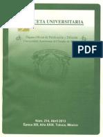 Informe Fondict 2012